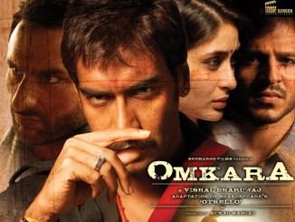 Omkara Movie Poster - Ajay Devgan