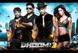 Dhoom 3 Movie Poster HD Wallpaper Aamir Khan