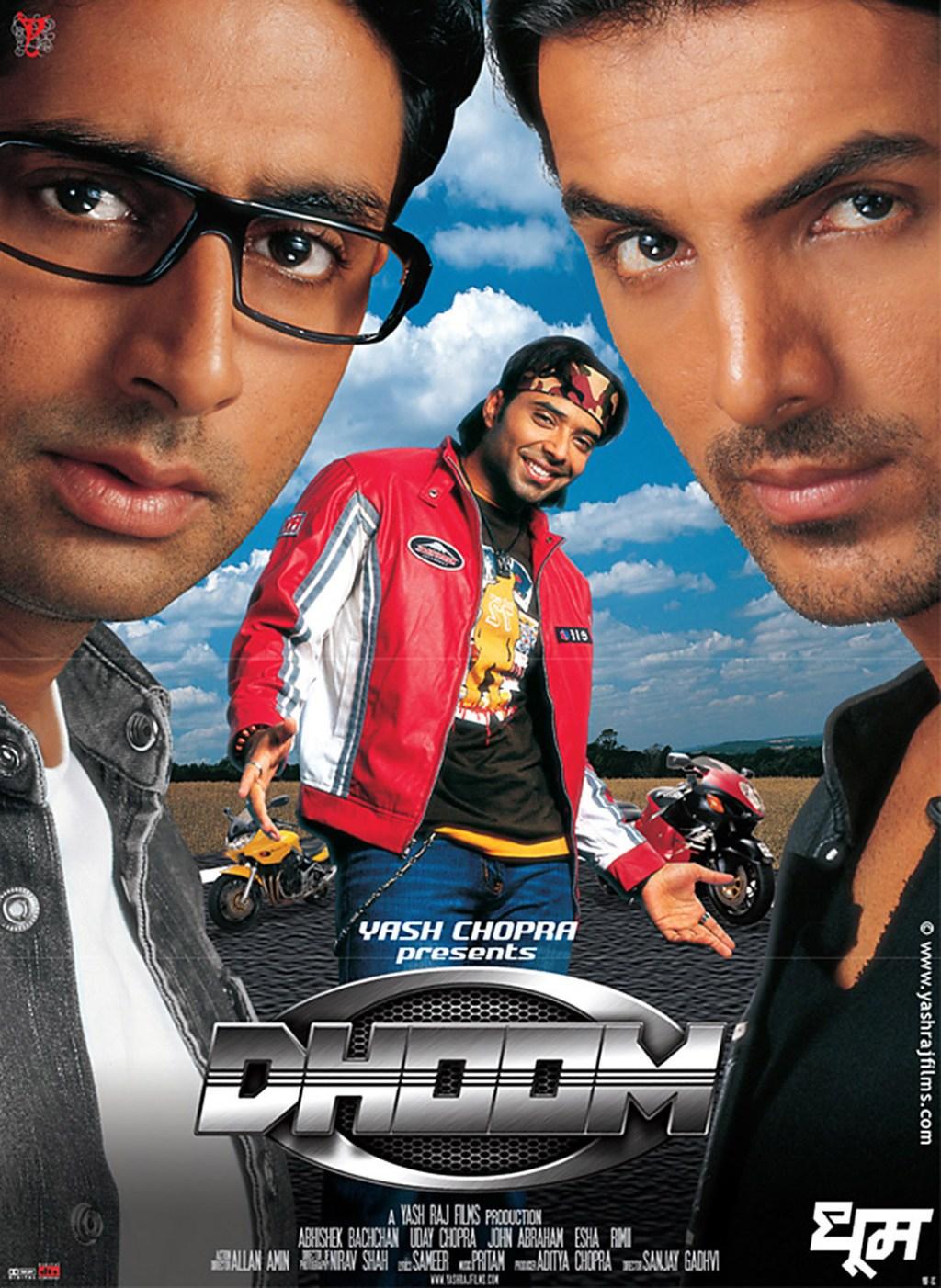 Dhoom Movie Poster John Abraham
