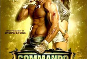 Commando Movie Poster Ft. Vidyut Jammwal, Pooja Chopra