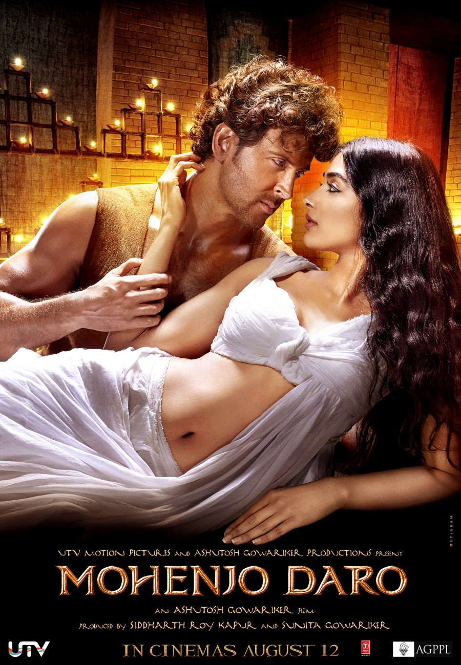 Mohenjo Daro Movie Poster Hrithik Roshan Pooja Hegde Full HD Wallpaper