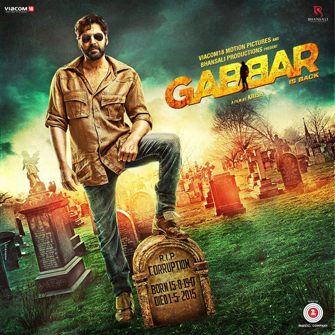 Gabbar is Back Movie Poster HD Akshay Kumar