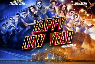 Happy New Year Movie Poster Shahrukh Khan, Deepika Padukone - Full HD Wallpaper
