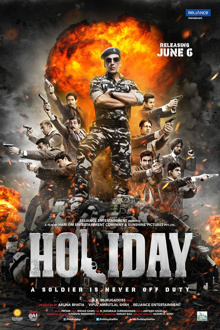 Bollywood Movie Based On Patriotism - Holiday