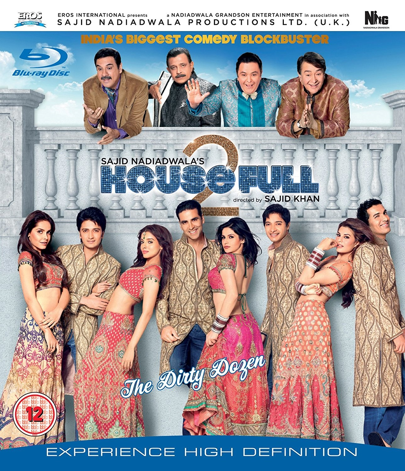 Housefull 2 Movie Poster - Full HD