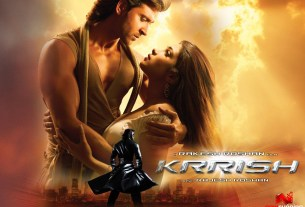 Krrish Movie Poster HD Ft. Hrithik Rosham And Priyanka Chopra