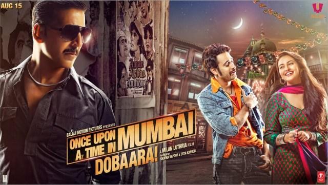 Once Upon A Time In Mumbai Dobaara MOvie Dialogues Poster HD Akshay Kumar Sonakshi Sinha Imran Khan