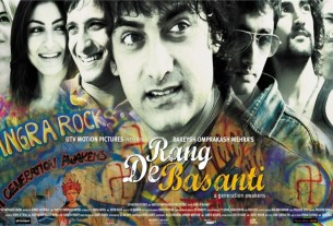 Rang De Basanti Movie Poster - Aamir Khan - Full HD Desktop Wallpaper