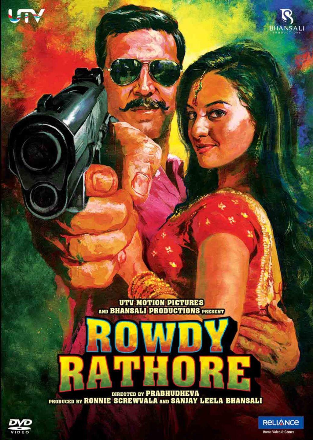 Rowdy Rathore Movie Poster HD Akshay Kumar