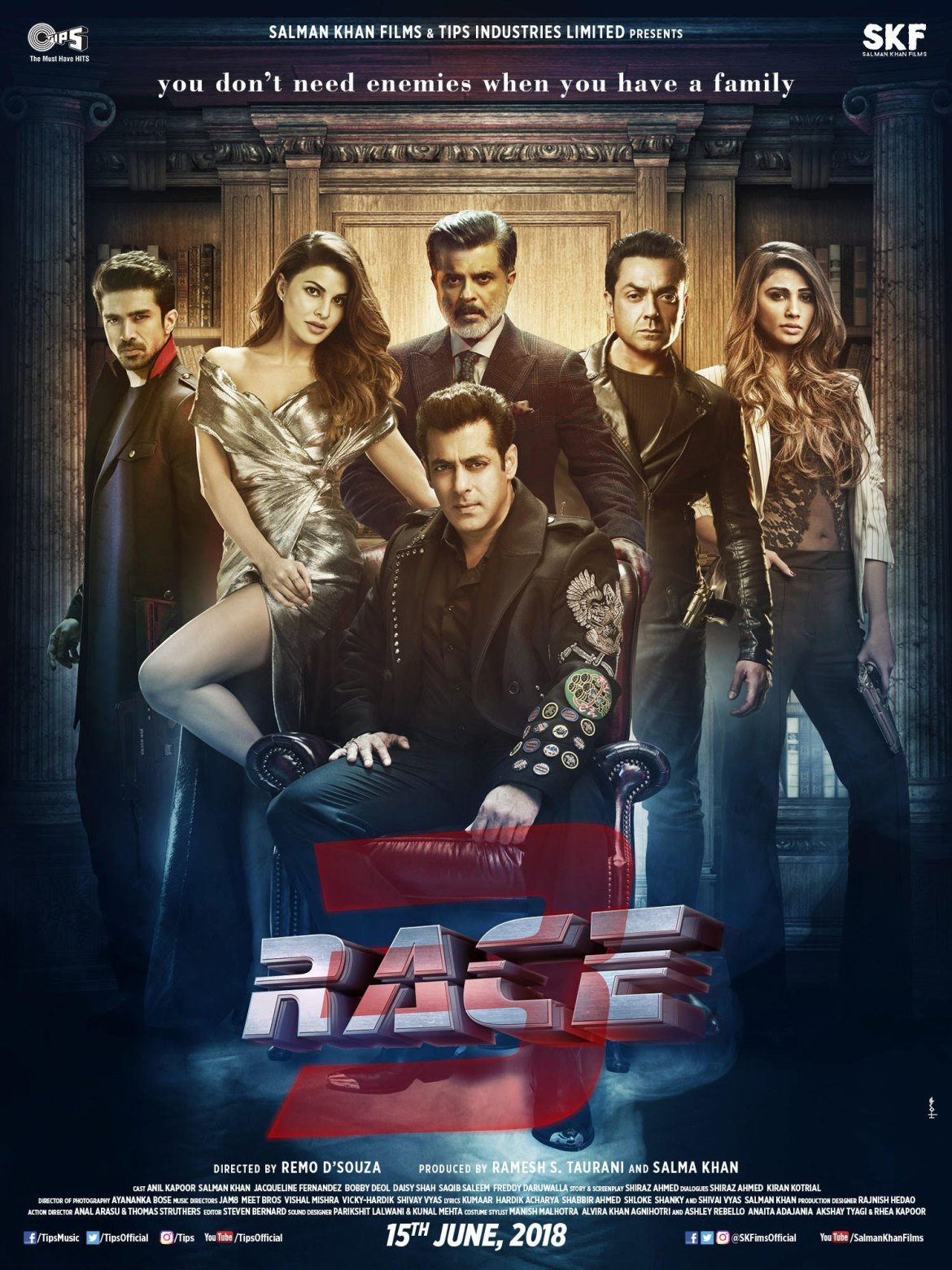 Race 3 Poster – All Official First Look Shared By Salman Khan