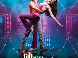 Rab Ne Bana Di Jodi Movie Dialogues Poster Shah Rukh Khan and Anushka Sharma