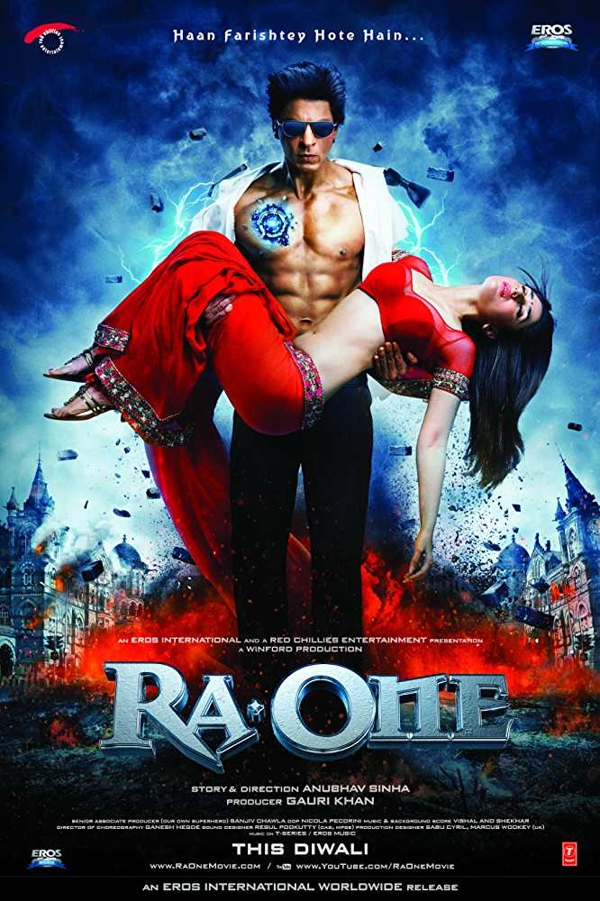 Ra One Movie Dialogues (Complete List)