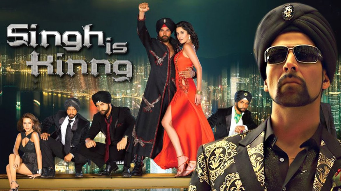 Singh Is Kinng Movie Dialogues Poster Akshay Kumar Katrina Kaif