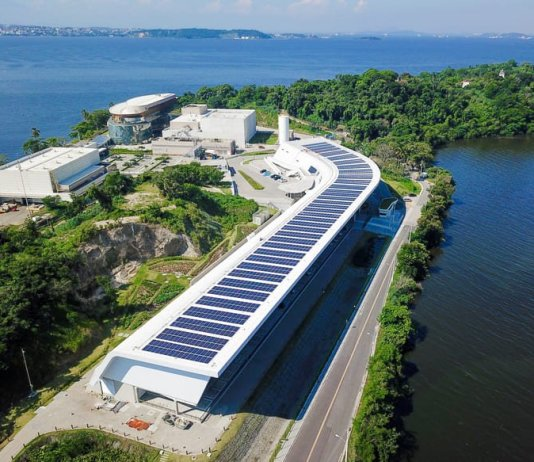 Loreal Brazil R&I Center with Solar Panels