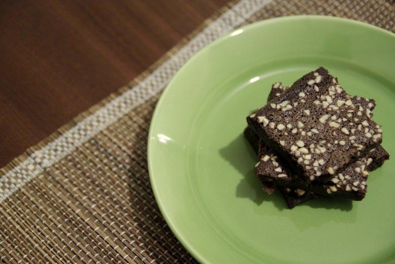 Na Cozinha – Brownies sem Glúten [La Dolce Rita]