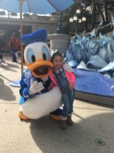 Disneyland donald duck
