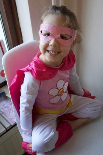 Word een superheld Chloe's superheld verkleedset