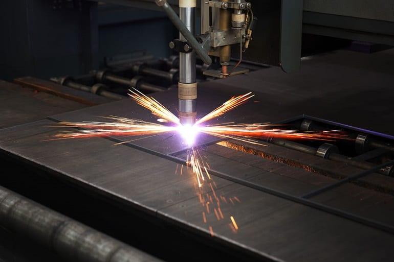 Plasmaschneider Metall