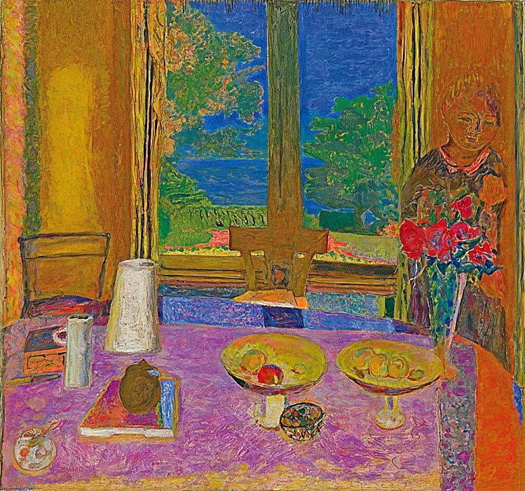 grosses esszimmer zum garten grande salle a manger sur le jardin 1934 35