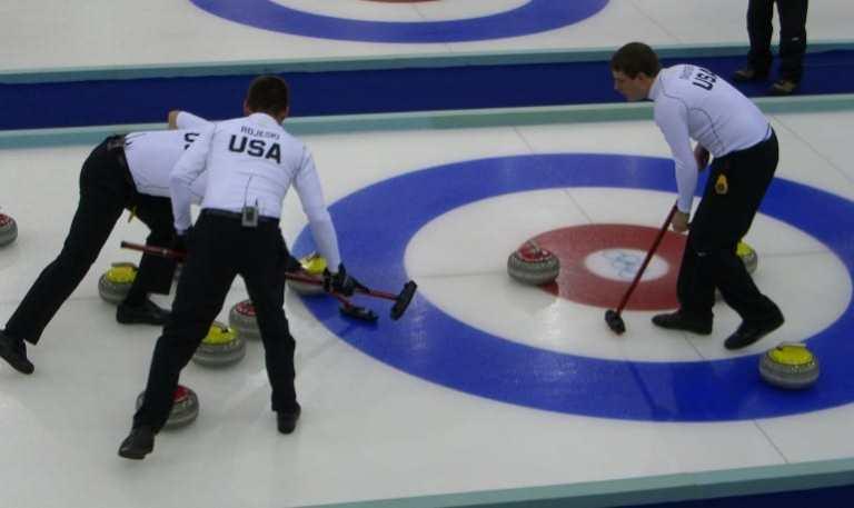Besen beim Curling