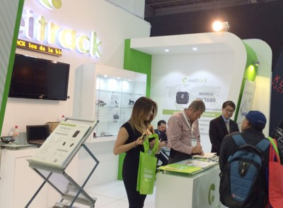 Expo Seguridad Meitrack booth view