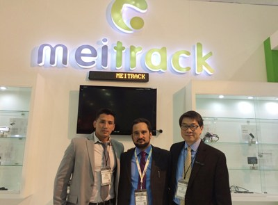 Expo Seguridad Meitrack Sign