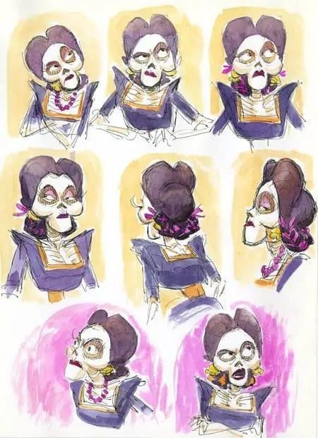 Checa Algunos Secretos Sobre Los Esqueletos De Coco De Disney Pixar