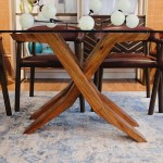 Theodore Dining Table 6 Seater Mejore