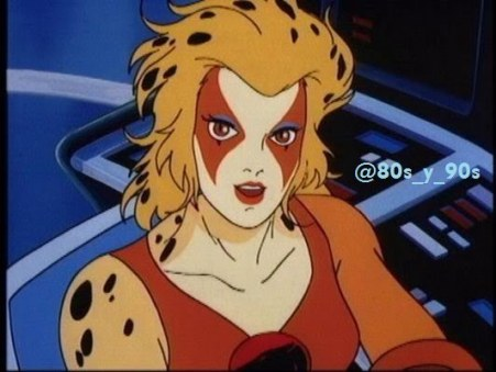 (Cheetara de Thunder Cats).