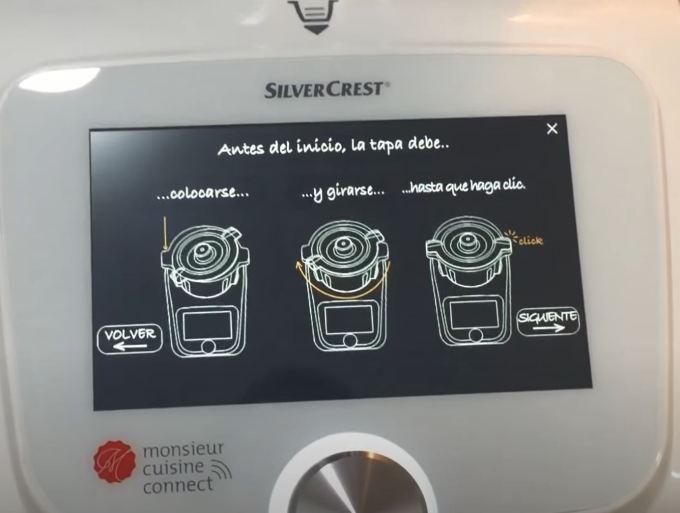 Instrucciones silvercrest monsieur cuisine lidl
