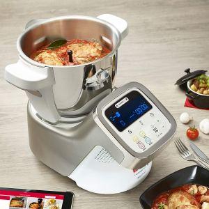 Moulinex i-Companion HF900110 cocinando con app y recetas