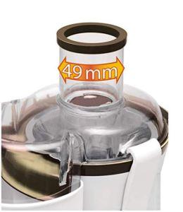 Licuadora pequeña moulinex Frutelia JU350B39 de centrifugado