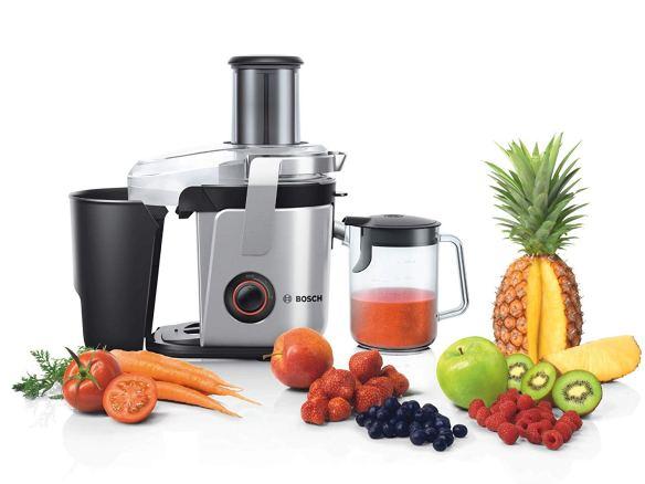 Licuadora Bosch MES4000GB de 1000W con frutas