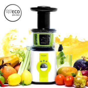 Licuadora Cecotec Cecojuicer C04036 prensado en frío de 150W con frutas