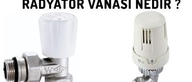 Radyatör Vanası