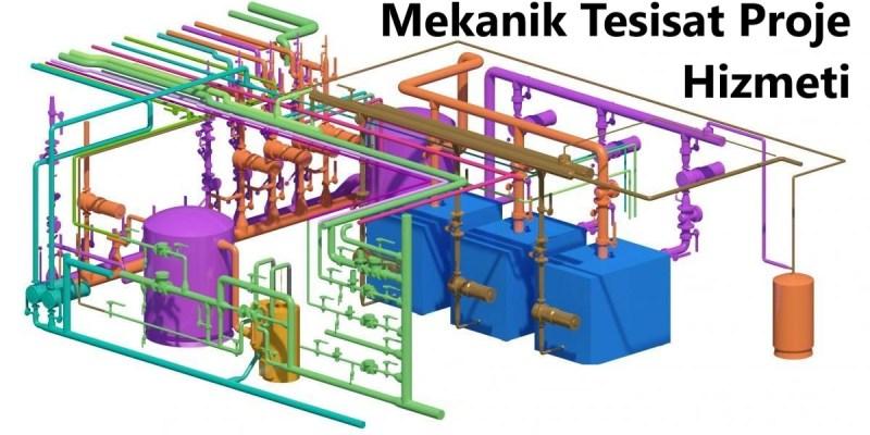 mekanik tesisat proje