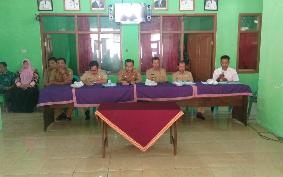 Penyumpahan Panitia Pemilihan Kepala Desa Mekarmulya Tahun 2018
