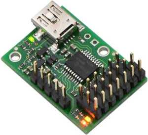 6 Kanal USB Servo Motor Kontrol Kartı