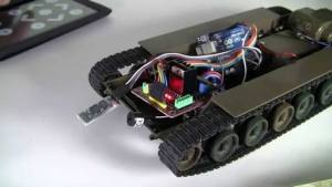 Arduino Uno Tank Bluetooth Kontrollü