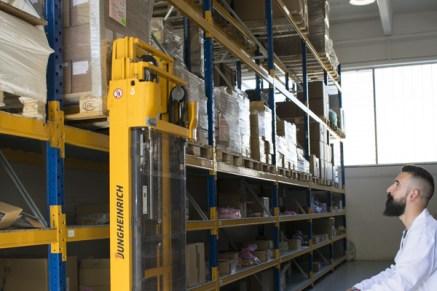 Stoccaggio delle merci in entrata / Income goods storage