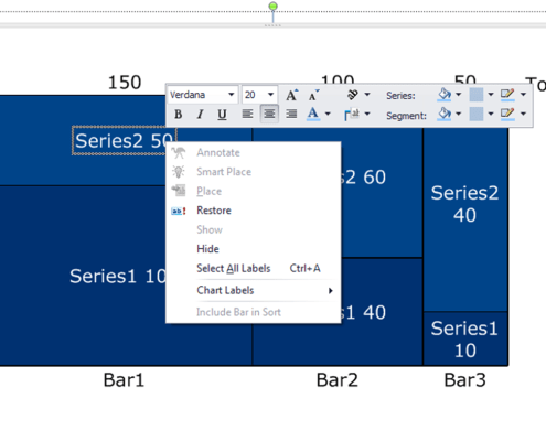 Formatting Labels in a Marimekko Chart