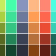 Colors in the Modern Palette