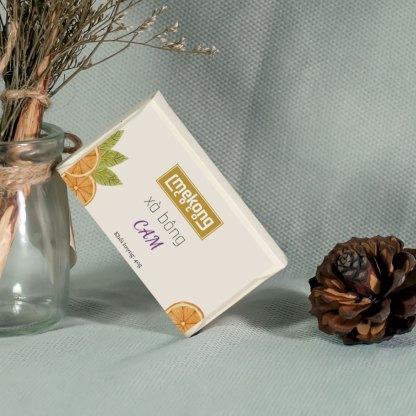 Xà bông handmade tinh dầu Cam thiên nhiên
