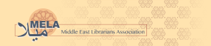 Middle East Librarians Association logo