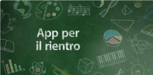 immagine sezione app store app per il rientro