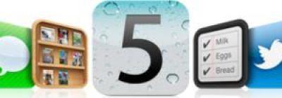 nuovo sistema operativo iOS 5 Apple
