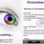 Applicazione Cromoterapia AppStore