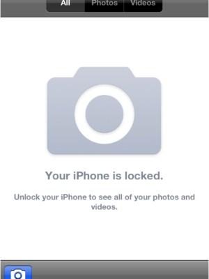 bug iOS 5 rullino foto iphone
