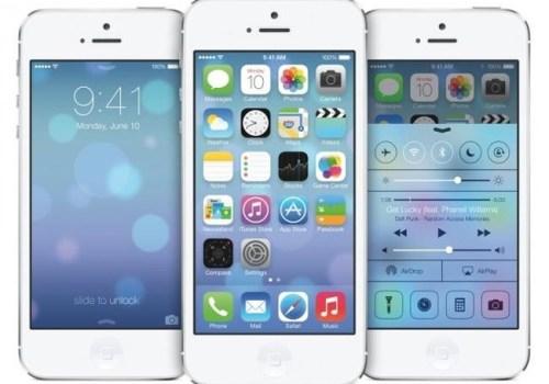 home screen iOS 7