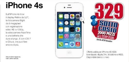iphone 4S Trony offerta